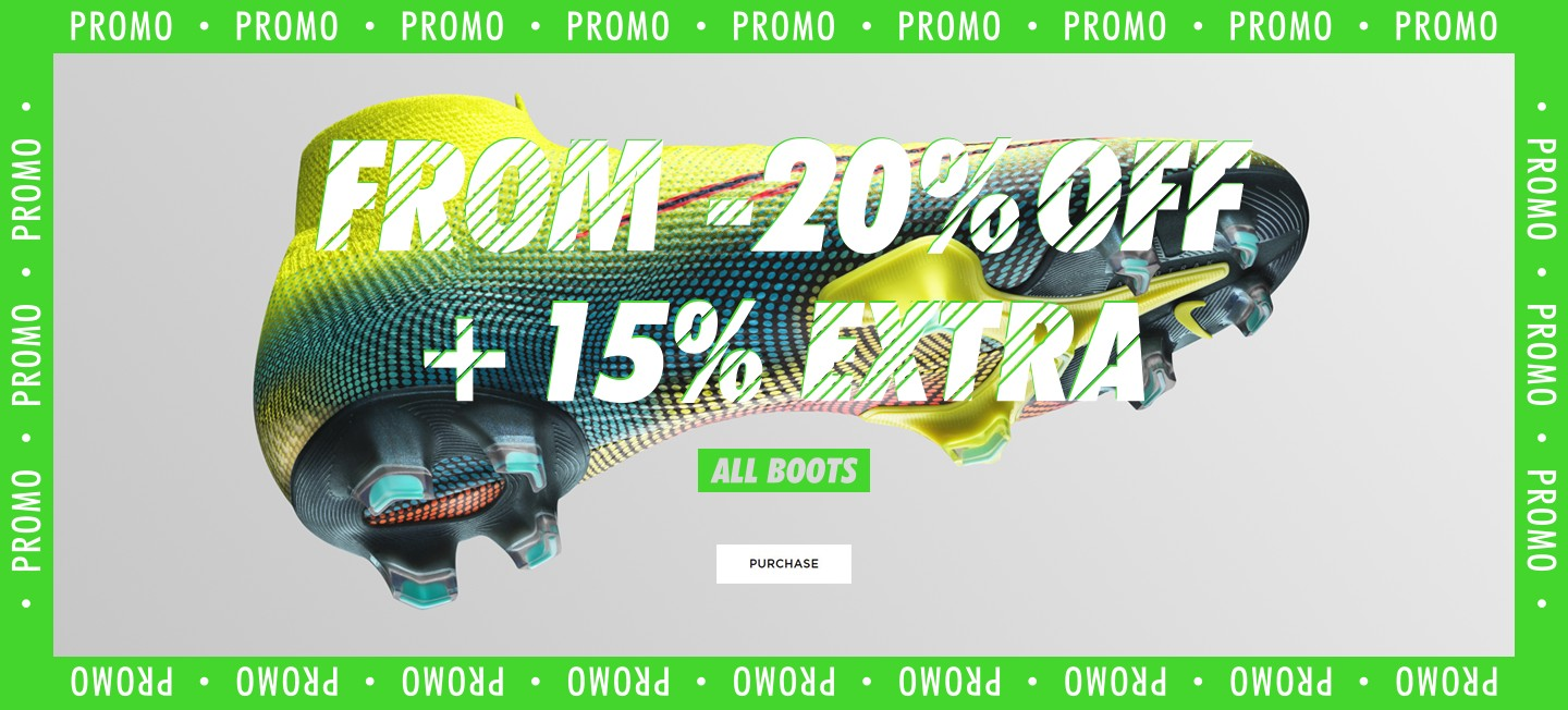 Promotion football boots