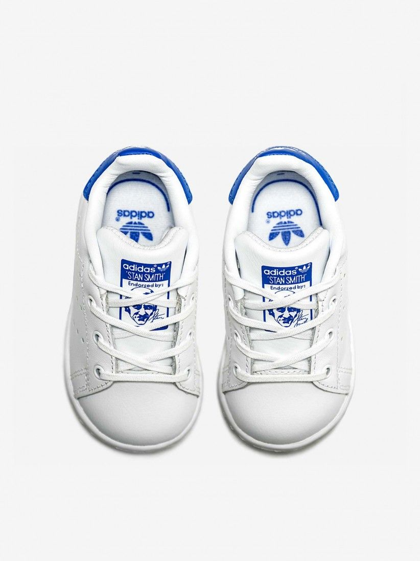 Adidas Originals Stan Smith Infant/toddler Shoes Footwear White/blue Bb3000 Clothing, Shoes & Accessories Baby Shoes