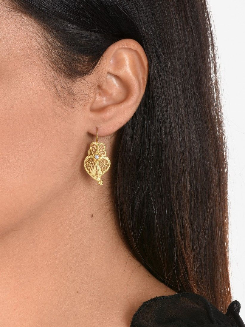 Bon Genie Pérola Earrings