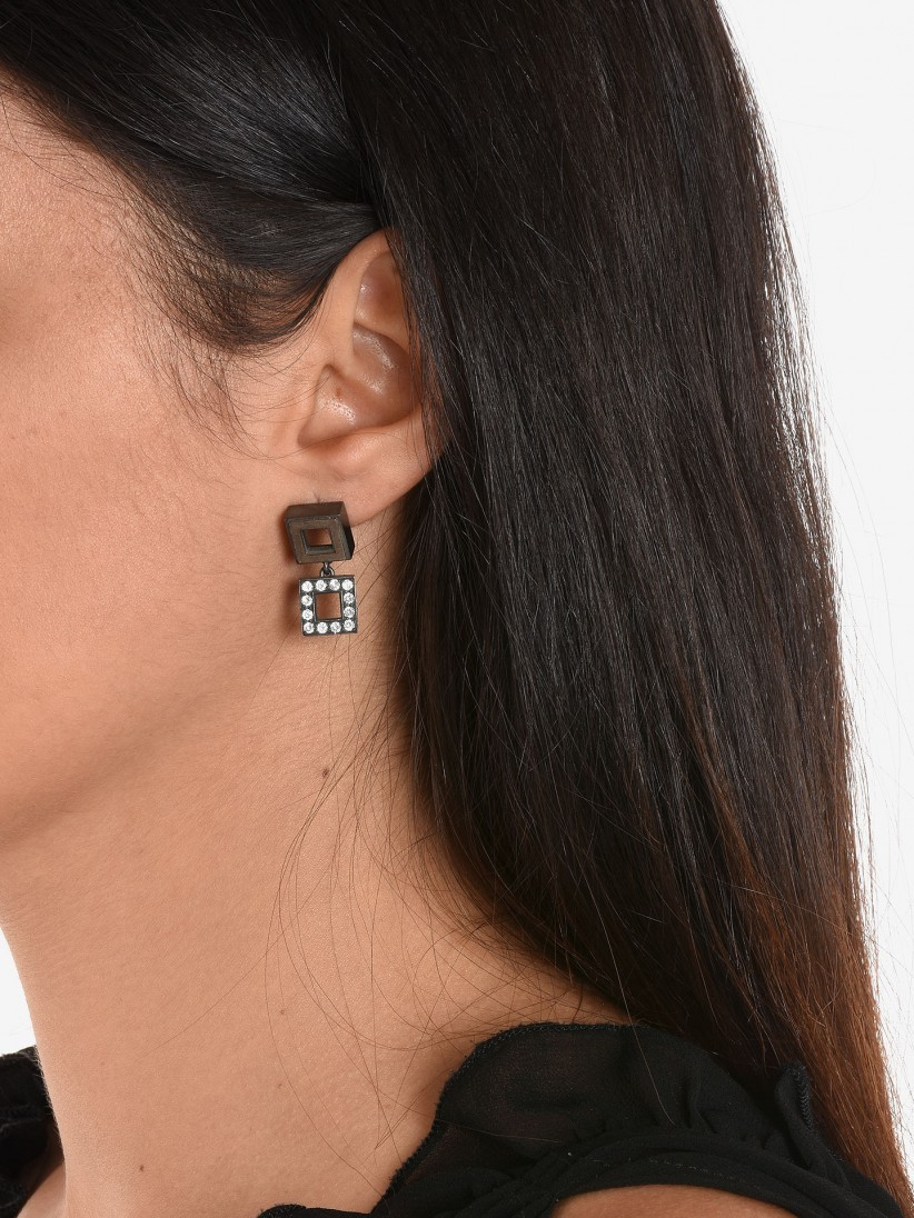 Bon Genie Quadrados Earrings