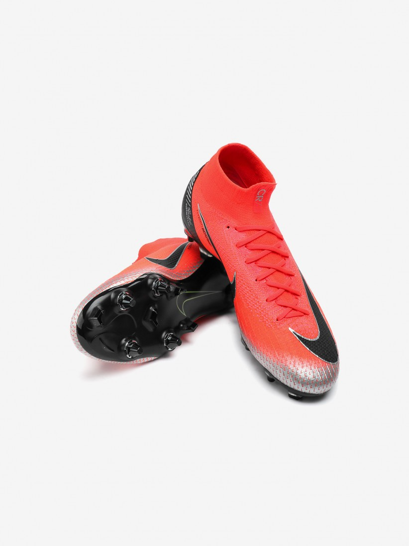 reputable site 261fc 658c9 Nike Mercurial CR7 Superfly 6 Elite Anti-Clog SG-PRO Boots