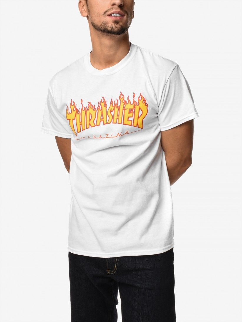 T-Shirt Thrasher Flame Mag