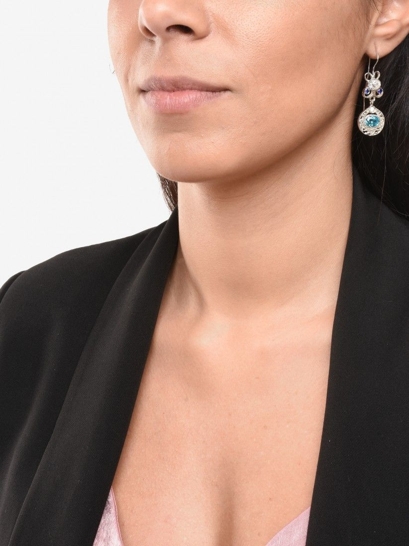 Bon Genie Azul Earrings