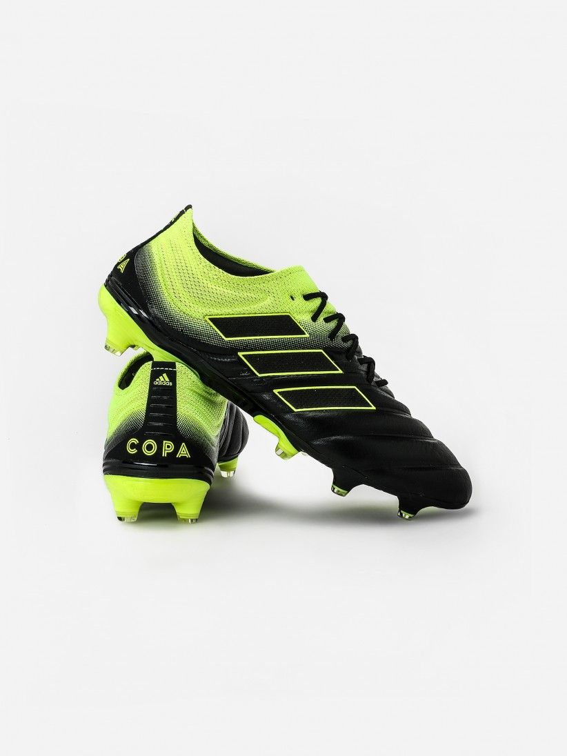Adidas copa 19.1 fg | Plush leather fused with knit. 2020 03 05