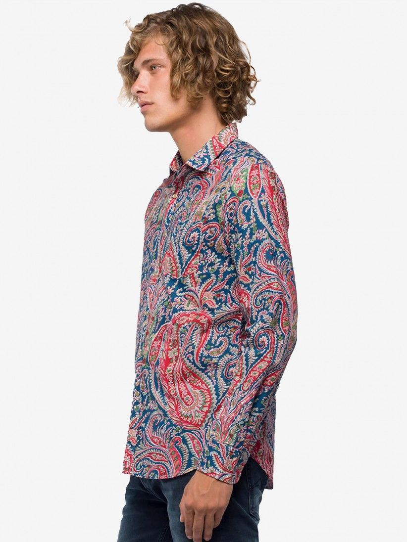 Camisa Replay Paisley