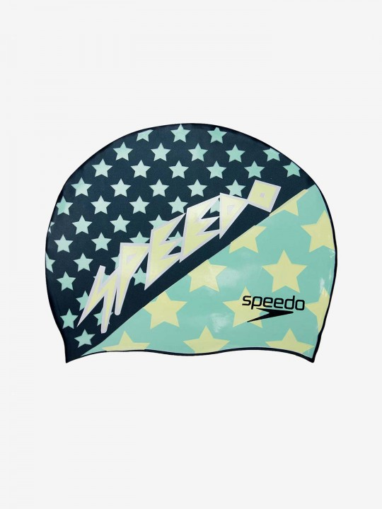 Speedo Slogan Swimming Cap