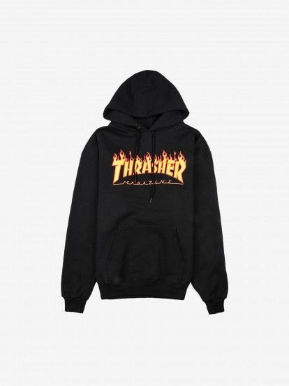Thrasher Flame Mag Sweat