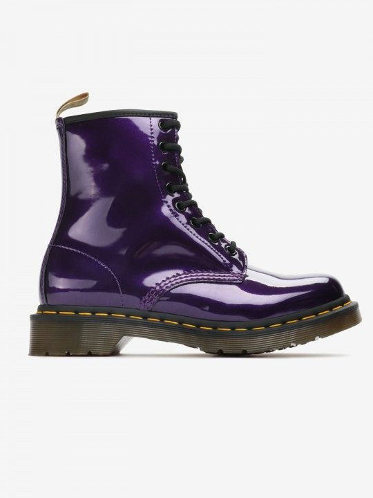 Dr. Martens 1460 Vegan Chrome Boots