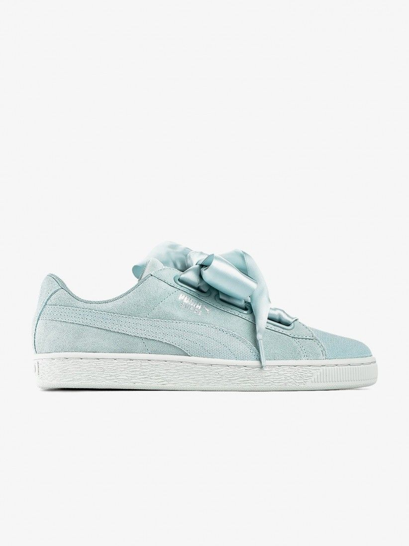 san francisco 5e33a 07fff Puma Suede Heart Pebble Shoes