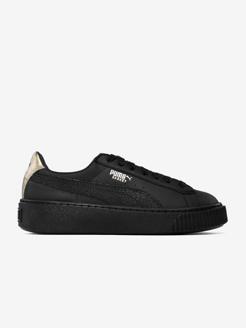 finest selection 68b4d d9fce Puma Basket Platform Euphoria Shoes