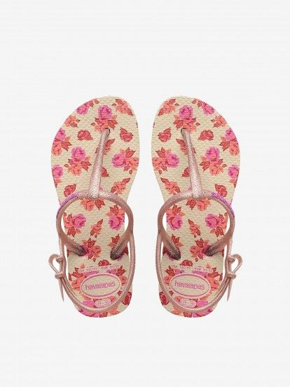 Havaianas Kids Freedom Print Sandals