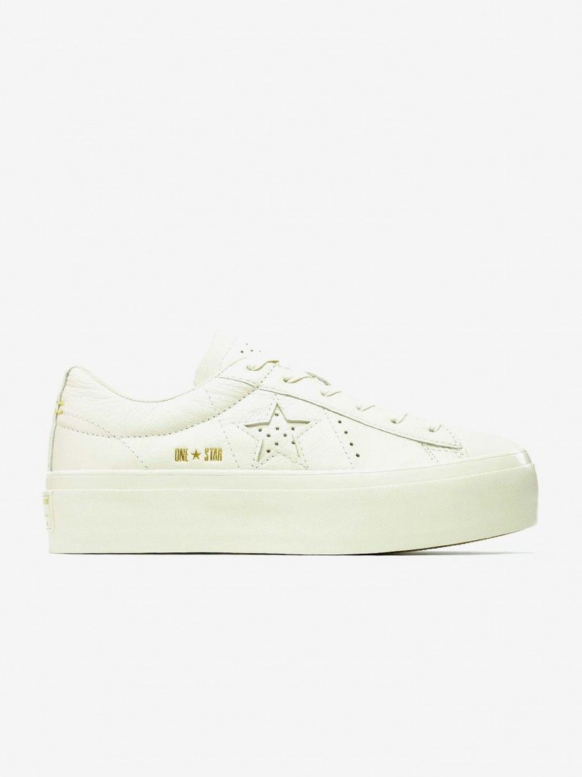 835c47a4bfde87 Converse All Star One Star Platform Shoes
