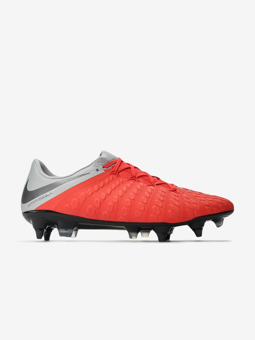 detailed pictures differently new authentic Nike Hypervenom Phantom III Elite SG-PRO Anti-Clog Boots