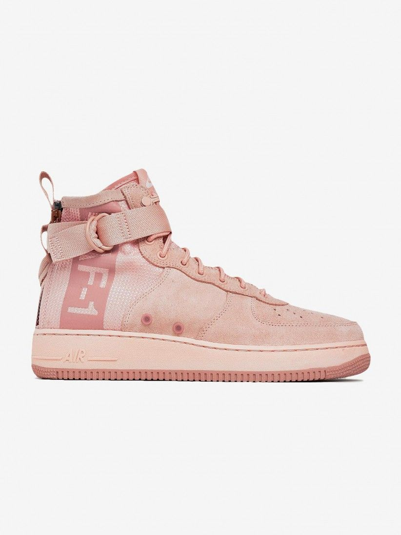 best service ad190 5fe71 Nike SF Air Force 1 Mid Suede Shoes