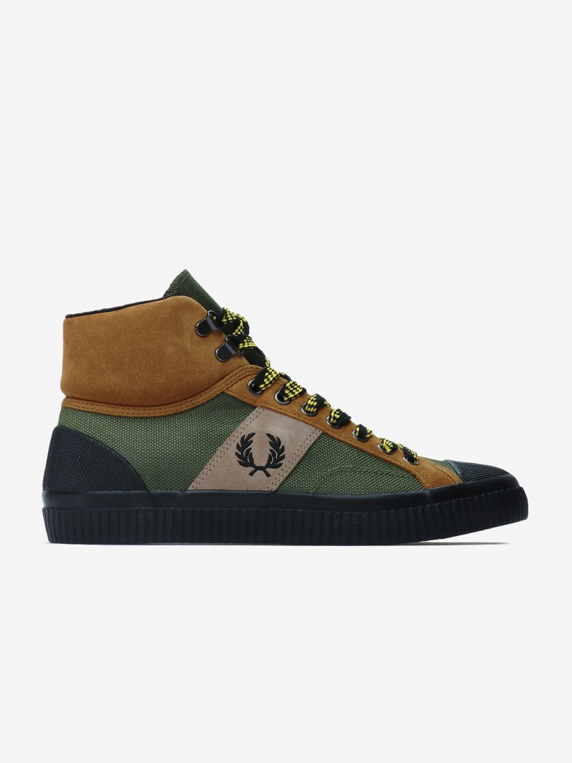 Fred Perry Hughes Mid Hike Poly Boots