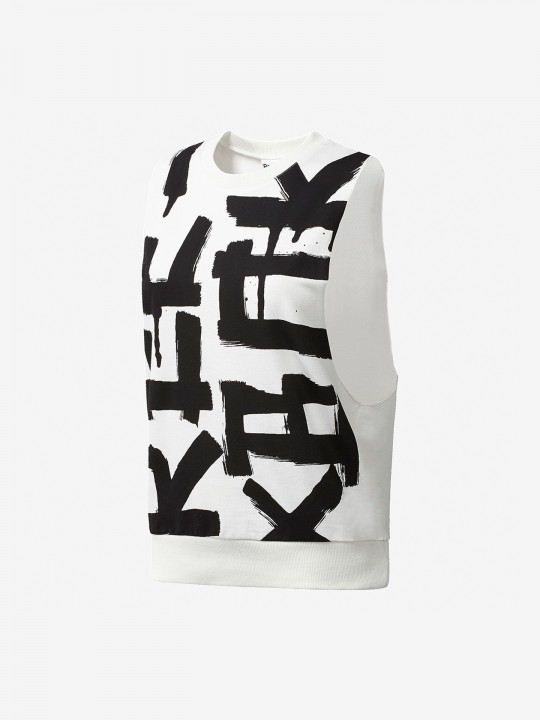 Reebok French Terry Muscle T-Shirt