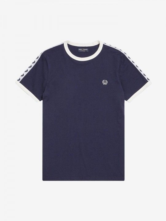 Fred Perry Taped Ringer Crew T-Shirt