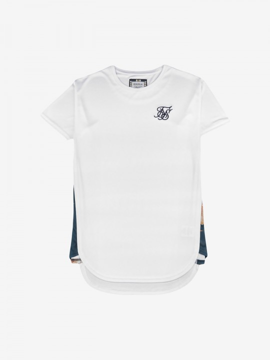 T-Shirt SikSilk Curved Hem Slide