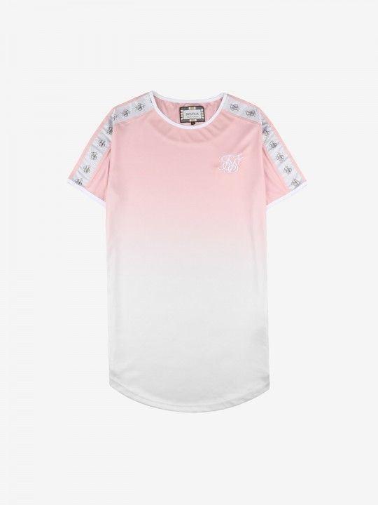 T-Shirt SikSilk Taped Fade Gym