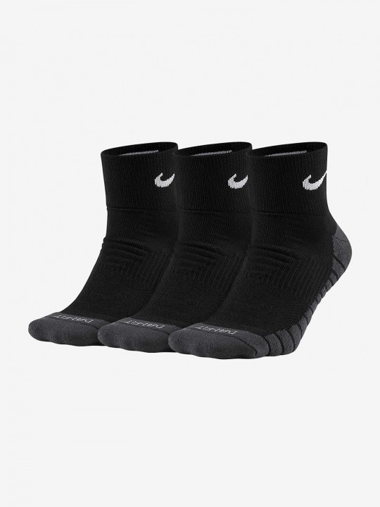 Meias Nike Dry Cushion Quarter (3 pares)
