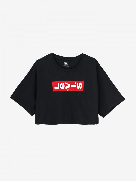 Levis Graphic Crop Slacker T-Shirt