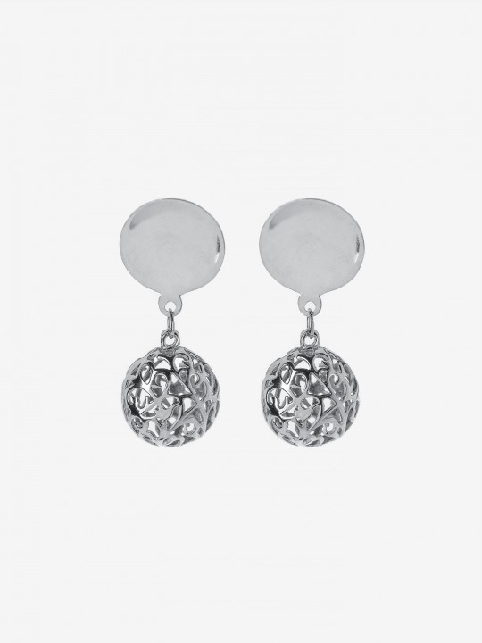 Bon Genie Silver Earrings