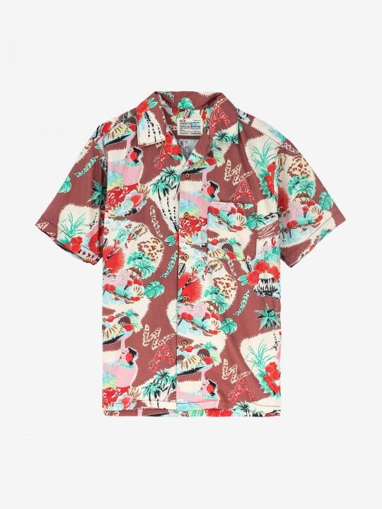 Camisa Replay Hawaii