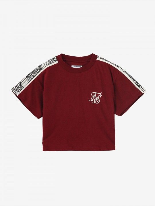 Siksilk Runner Cropped T-Shirt