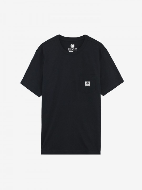 T-SHIRT ELEMENT BASIC POCKET LABEL