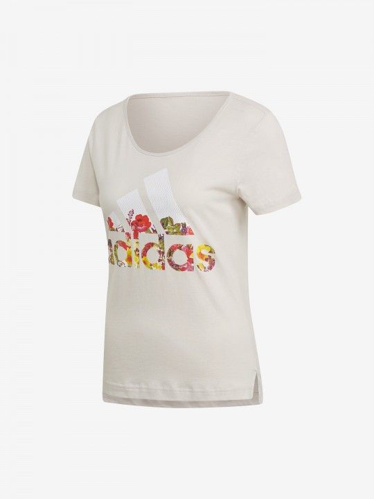 Adidas Badge Of Sport Flower T-Shirt