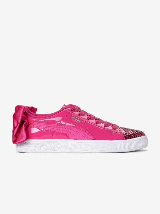 Puma Basket Bow Coate Glam Sneakers