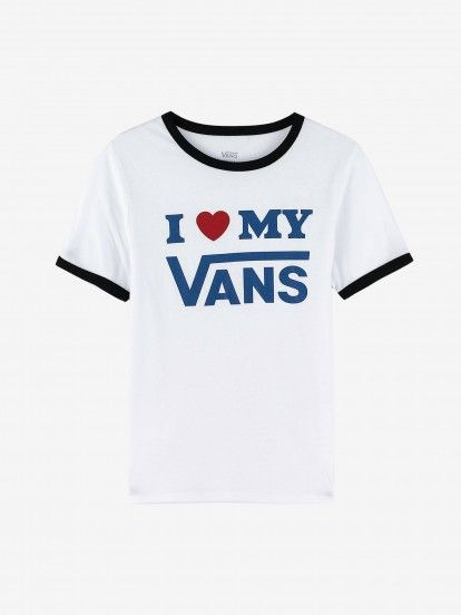 T-Shirt Vans Love Ringer