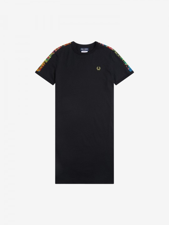 Fred Perry Ringer T-Shirt Dress
