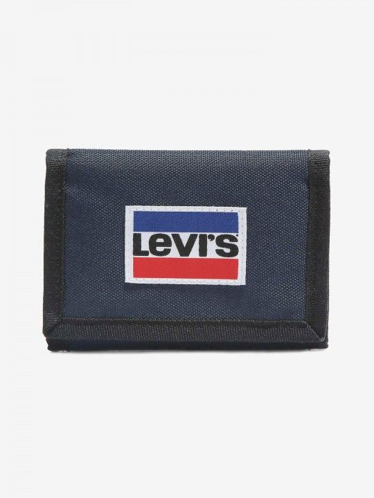 Carteira Levis Sportswear Patch