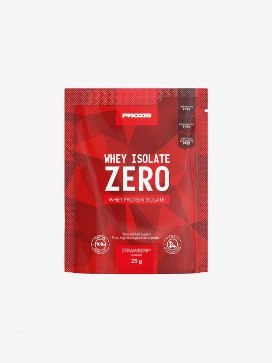 Prozis Zero Whey Isolate 25g: Strawberry