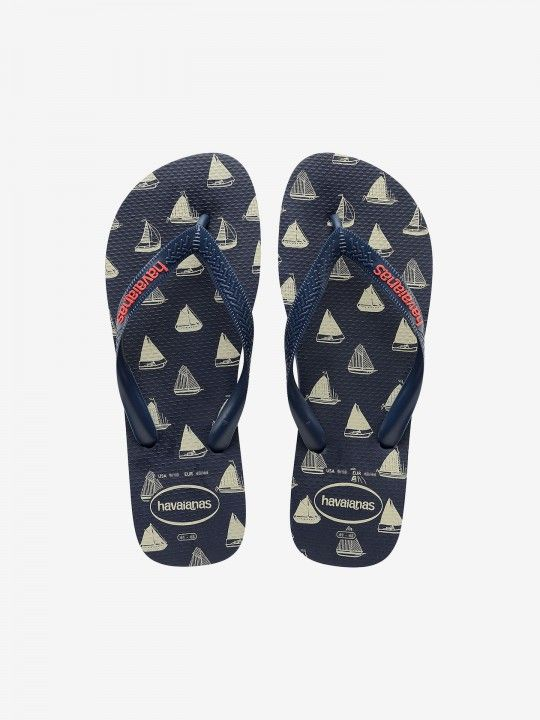 Havaianas Top Nautical Flip Flops