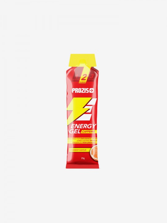 Prozis Energy Gel + Caffeine25 g - Orange