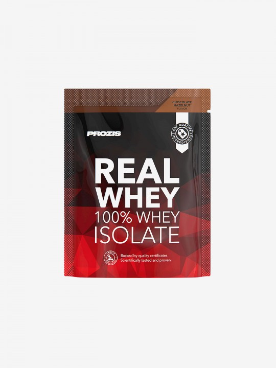 Prozis 100% Real Whey Isolate 25g - Chocolate e Avelã
