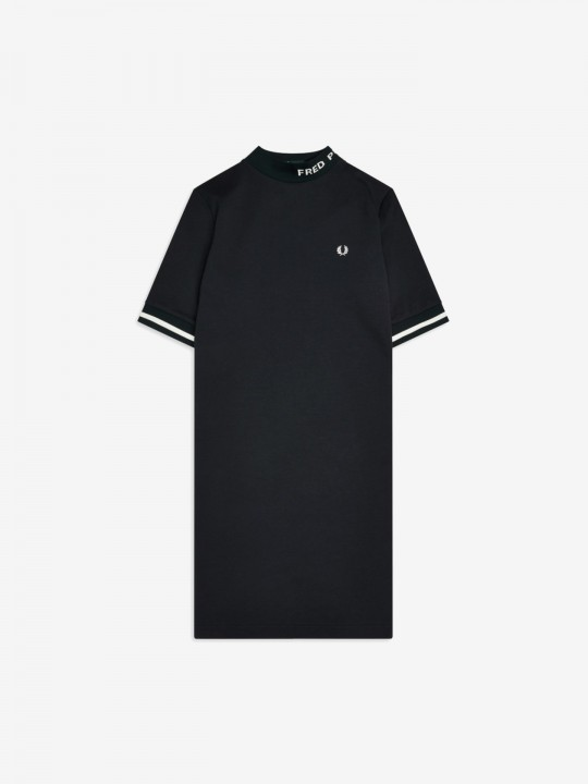 Vestido Fred Perry High Neck