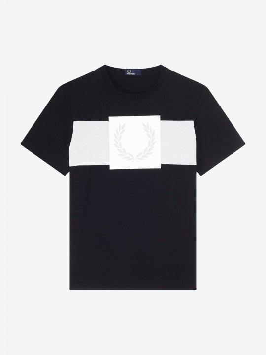 Fred Perry Laurel Wreath Print T-Shirt