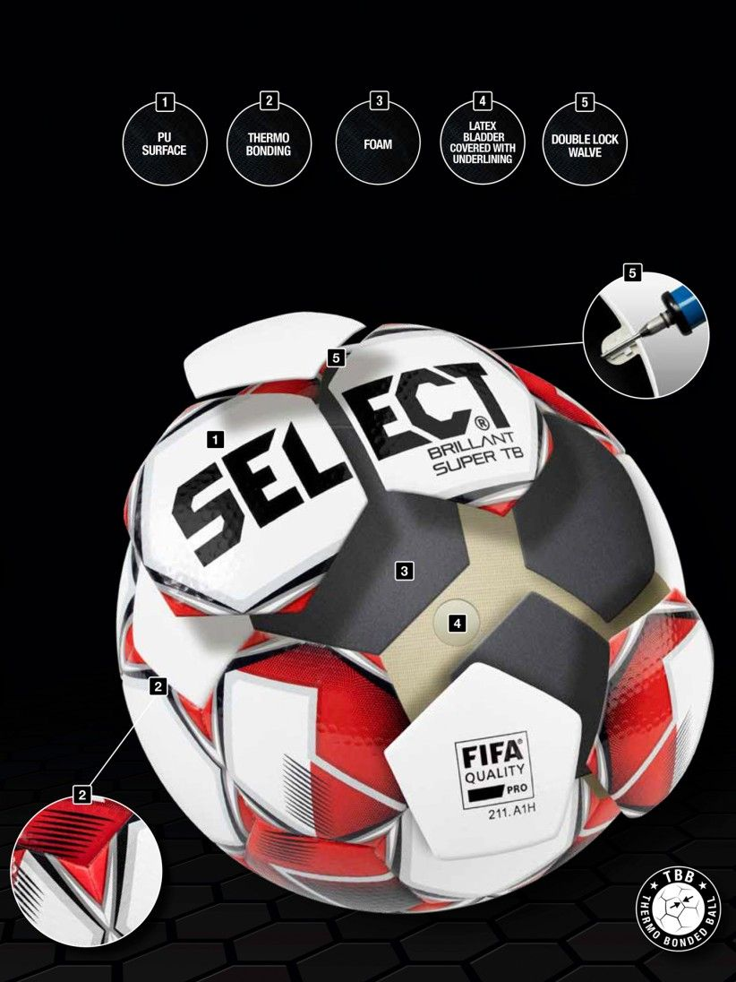 Bola Select Brillant Super TB Portugal 19/20