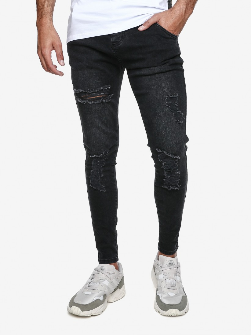 Siksilk Distressed Trousers