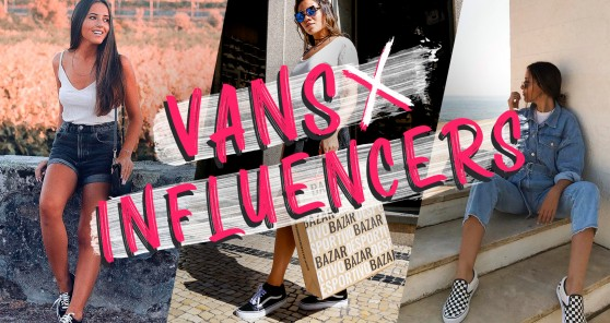 Vans x Influencers: how to style