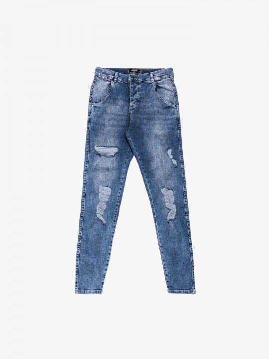 Calças Siksilk Distressed