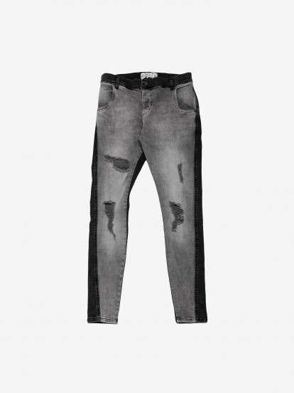 Siksilk Twisted Hem Trousers