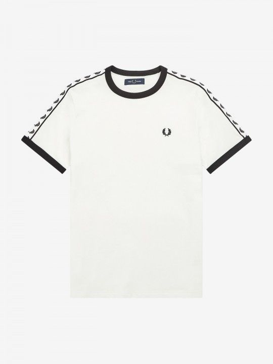 T-Shirt Fred Perry Ringer Taped