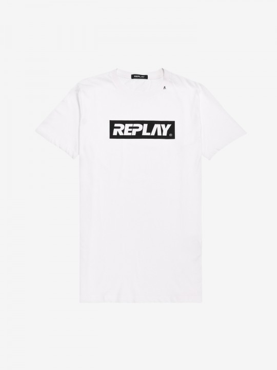 Camiseta Replay Writing