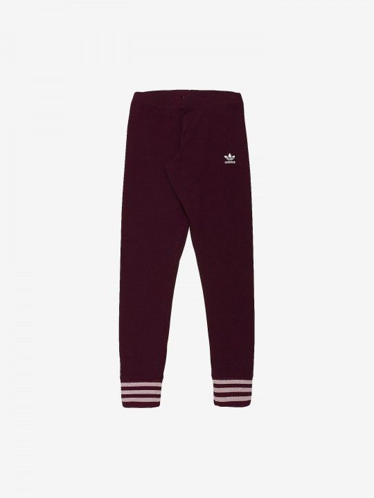 Leggings Adidas Maroon