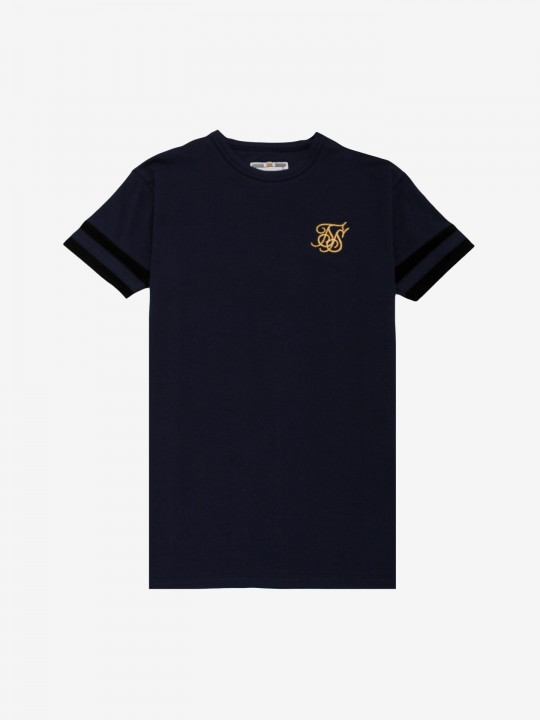 Siksilk Reverse Collar T-Shirt