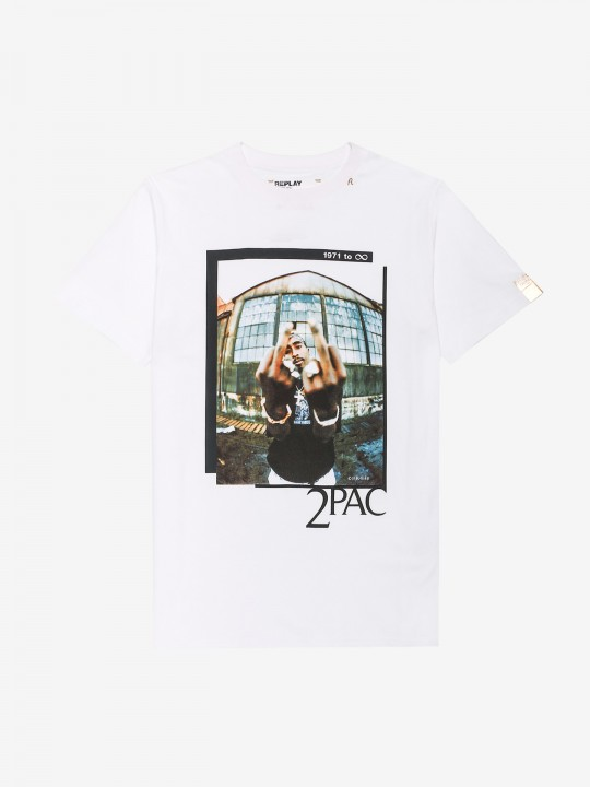 Replay Tupac Tribute T-Shirt